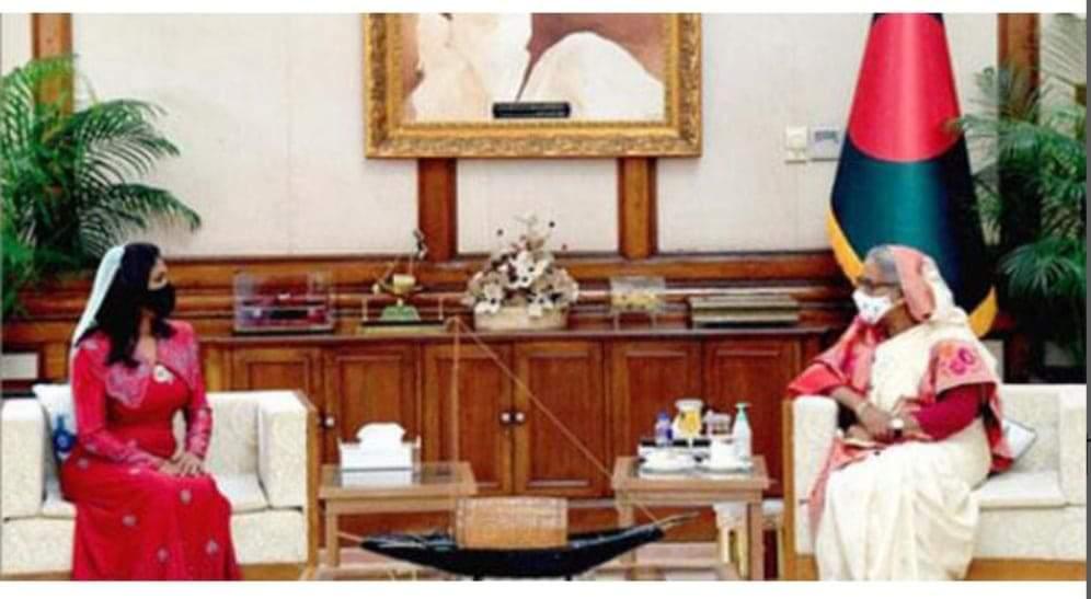 শেখ হাসিনা মুসলিম উম্মাহর এক অনুকরণীয় নেতা: মিশরের রাষ্ট্রদূত